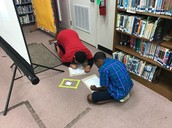 4th grade- library mystery