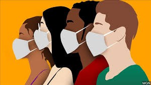 Face masks are required at all times on campus when social distancing is not possible.  Face masks must adhere to district dress code guidelines.