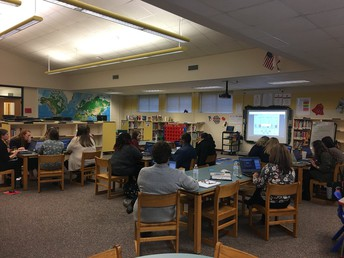 Teachers attending the Gizmo's Math and Science Training