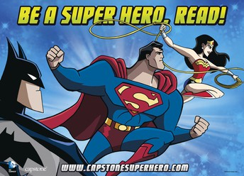 Calling All Superhero readers, It's Book fair time!
