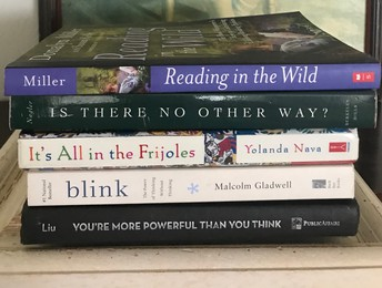 Book Spine Poetry Wednesday April 22nd