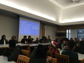 Eagle Scholars Alumni share college experiences at the BASE meeting