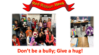Red Ribbon Week - Don't be a bully!