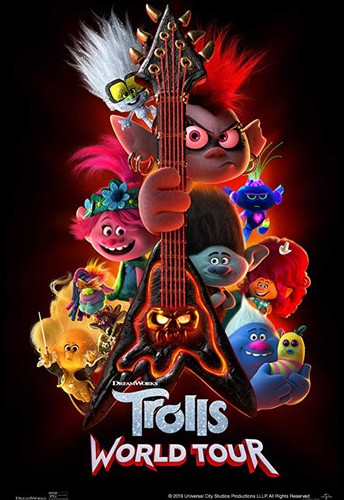 Odyssey Elementary PTA is presenting Family Movie Night: Trolls World Tour, virtually!