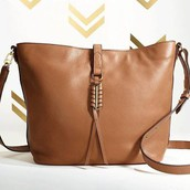 Covet Leather Sunday Bag