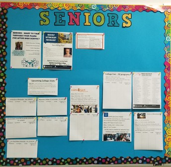 Senior Bulletin Boards