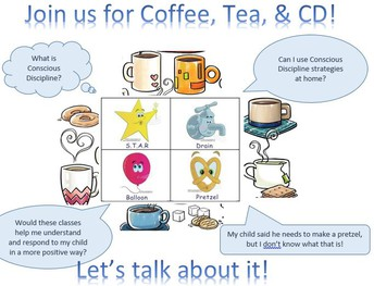 Coffee, Tea, & CD (Conscious Discipline)
