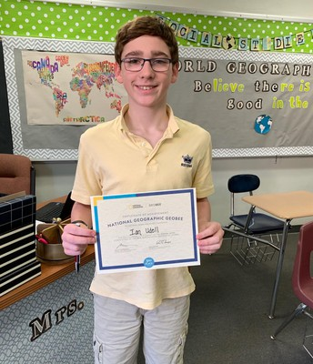 Geography Bee Place Winner