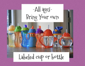 Bring your own Labeled Cup