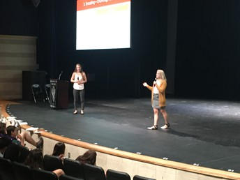 Dennis Learning Center from OSU presented study skill techniques to Central AP students during the AP Boot Camp.