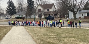Great fire drill for February