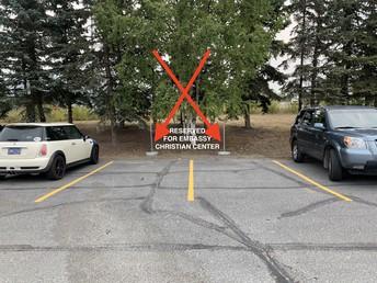 Church Parking Spots