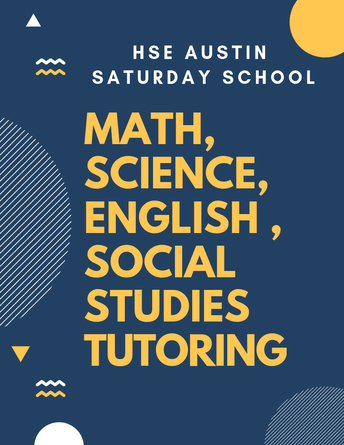 SATURDAY SCHOOL (This Weekend!)