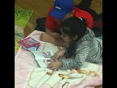 Daddy Daughter Reading