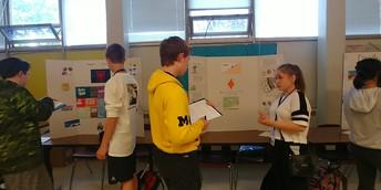 8th Grade Language Arts Project