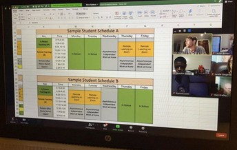 Video Recording: & Resources: Parent/Guardian Meeting about Hybrid-Learning