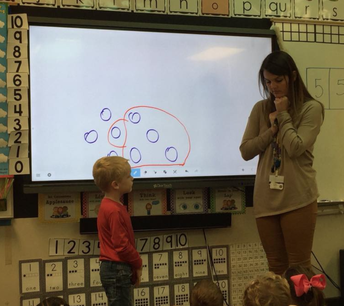 Learning to Count in Kindergarten