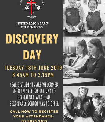 Year 7 Discovery Day