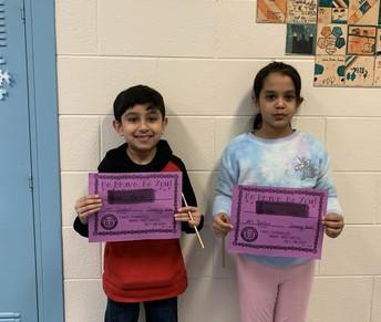 January Bravery Award Winners