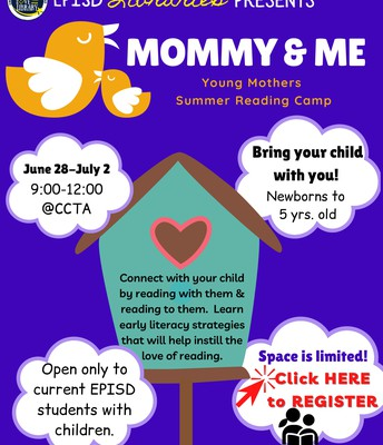 Mommy & Me Young Mothers Summer Reading Camp