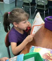 Read to Self While Practicing Fluency with our Reading Phones