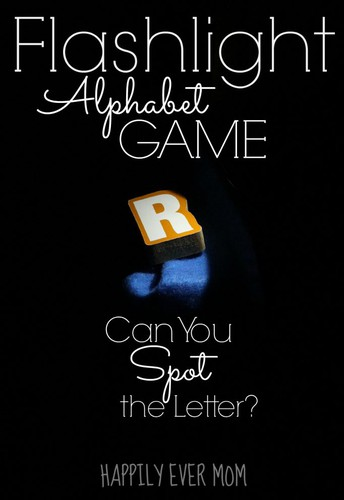 Flashlight Alphabet Game