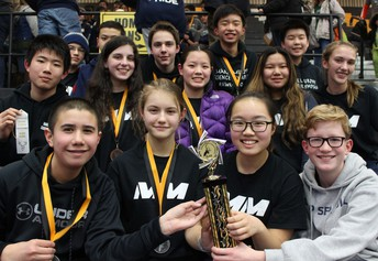 Sci Oly Continues Strong Season with Outstanding Performance in Ohio