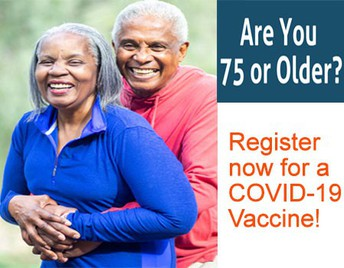 COVID-19 vaccine for ages 75 and up