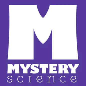 This is an image of the Mystery Science icon and a link to its website sharing free resources during Coronavirus school closings.