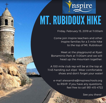 Mt. Rubidoux Hike