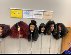 Hutchings College and Career Academy Cosmetology Students Wig Out!
