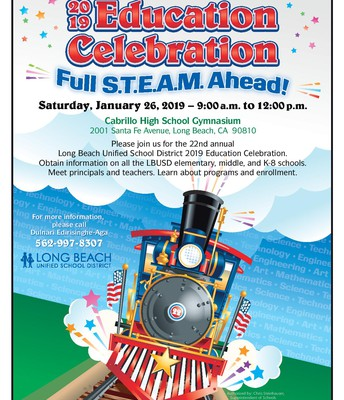 Education Celebration Saturday, January 26, 2019 - 9am-12 noon