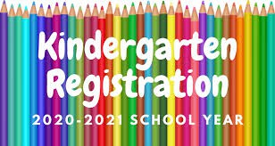 Save the Date!  Kindergarten Registration - Wednesday February 5, 2020