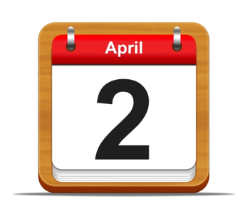 April 2nd - Conference Prep Day is Asynchronous