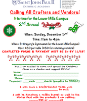 Calling all Crafters and Vendors!
