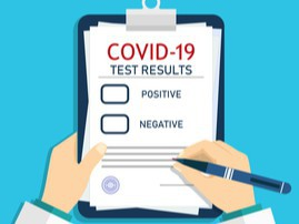 Report a Positive COVID test result