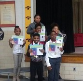 1st Semester 5th Grade Honors Day Receipients