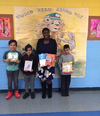 C.A.S. World Read Aloud Day