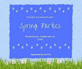 Mark your calendar for our PTA Spring Parties