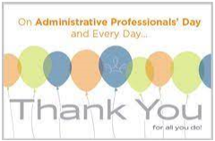 Many thanks to our amazing building secretaries!!