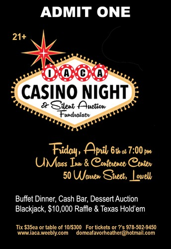 Casino Night is Tonight!