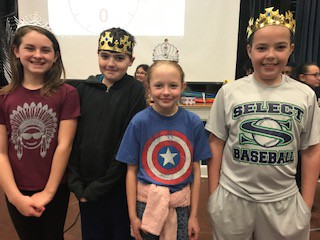 Kings and Queens from 4th and 5th grade