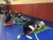 Sit-up competition