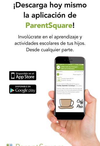 DESCARGUE HOY LA APLICACIÓN DE PARENTSQUARE!
