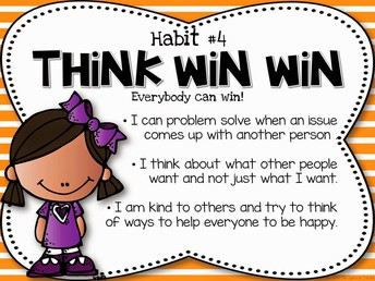 Leader In Me Habit #4 Think Win Win