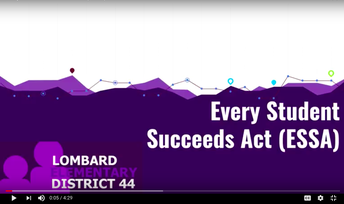 Every Student Succeeds Act (ESSA) Information & School Designations
