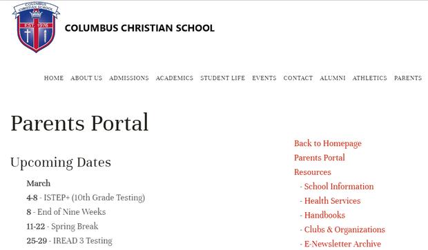 Parents Portal