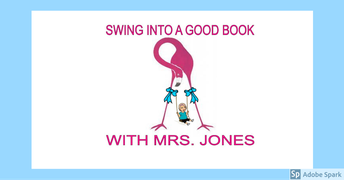 Swing Into A Good Book With Mrs. Jones