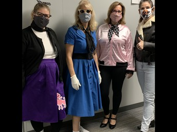 Rock'n The 50s- Office Staff