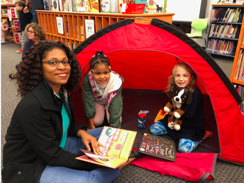 Equity Spotlight: Oakhurst Elementary's Family Reading Campout